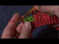 How to Crochet: Switching Colors in the Middle of a Row