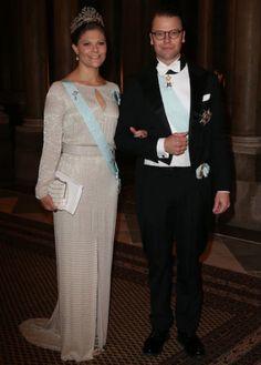 Swedish Royals Official dinner, Royal Palace of Stockholm, Sweden. 18 November 2014