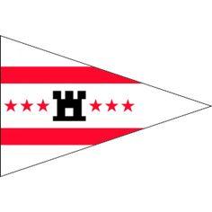 Puntvlaggetje Drenthe 20x30cm, op schepen vooral gebruikt als geusje op de boeg van het schip Materiaal beste kwaliteit vlaggenstof met koord en lus rondom gezoomd Dit formaat vlag wordt ookwel wimpel wimpeltje geusje puntvlaggetje puntvlag bootvlag of Geus genoemd.
