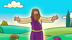 The Resurrection-- The Beginners  3 minute video telling the resurrection story. Easter idea for toddlers and preschoolers
