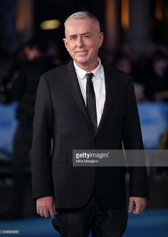 Holly Johnson arrives for the European premiere of 'Eddie The Eagle' at Odeon Leicester Square on March 17, 2016 in London, England.  (Photo by…