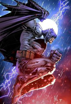Batman by Ken Lashley colours by Juan Fernandez - Batman Poster - Trending Batman Poster. - Batman by Ken Lashley colours by Juan Fernandez Batgirl, Batman And Catwoman, Batman Dark, Batman The Dark Knight, Batman Vs Superman, Batman Suit, Batman Arkham, Batman Robin, Batman Painting