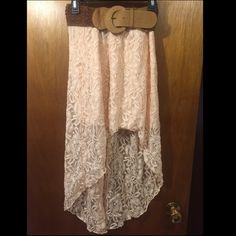 High low maxi skirt Brand new with tags, super cute for the summer Rue 21 Skirts High Low