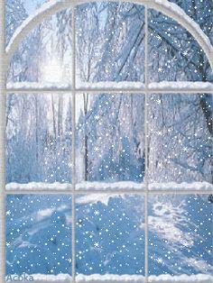 Зима - анимация на телефон №952092