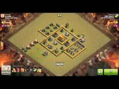 Clash of Clans TH6 vs TH6 Giant, Wizard & Balloon Clan War 3 Star Attack ⋆ Clash of Clans 3 Stars Clan Wars