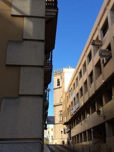 Calle Zurbarán. Badajoz.