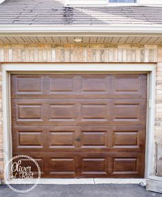 Oliver And Rust Wood Garage Doors For