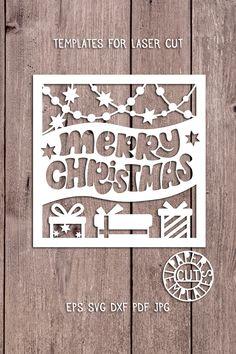 Christmas Photo Card Templates Elegant Пин на доске Paper Cut Templates Christmas Photo Card Template, Christmas Templates, Christmas Cards To Make, Christmas Photo Cards, Christmas Paper, Christmas Greetings, Christmas Photos, Merry Christmas, Paper Cutting Templates