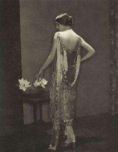 Marion Moorhouse in Chanel by Edwin Steichen 1924