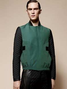 Mathias Lauridsen in Tim Coppens Amy Troost for VMAN SS 2013