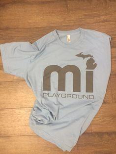 mi playground logo design t-shirt for by enjoyMIPLAYGROUND on Etsy