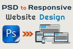 We provide #PSD to #Responsive website by implementing correct coding practice, which ensures exact look for your #website on every device irrespective of the screen size.