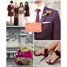 Marsala Wedding Color Inspiration!