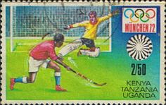 Postage Stamps Kenya Uganda Tanzania 1972 Olympic Games Fine Used SG 317 Scott 253 For Sale Take a look