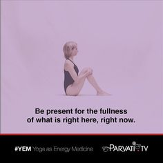 Yoga is about awakened presence. Remember to welcome wherever you may be without competitiveness judgment or wanting. In this you already begin to achieve the meaning of yoga to be in non-resistance to the fullness of life in this moment right here and now.  #parvati #positivepossibilitieslady #yem #yoga #yogini #yogaasenergymedicine #yogateacher #yogaquote #energywork #breathwork #selfhealing #grace #lifeforce #nature #oneness #consciousness #health #namaste #meditation #meditate #bepresent…