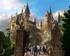 The Wizarding World of Harry Potter, Orlando - Of course, I wouldn't mind the Hollywood one either once it's built...