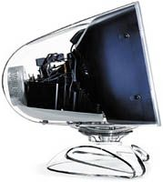 "Apple 17"" Studio/Cinema Display CRT. Released July 2000. The last CRT-based display ever designed by Apple."