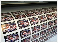 Printing Service Custom Personalised Vinyl Sticker Decal Your Own Design Printed
