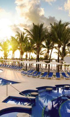 Paradise - Riu Yucatan- Playa del Carmen, Mexico  - Beach Sunrise