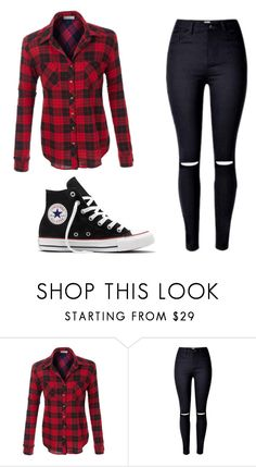 """""""Untitled #72"""" by nicolegarlow ❤ liked on Polyvore featuring Converse"""