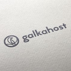 One of the logo variants for the hosting company. It's based on russian word 'galka' which means both 'jackdaw' and 'check mark'. #logomachine #logodesign #logo #logotype #branding #brandidentity #design #print #jackdaw #checkmark #bird by logomachine_official