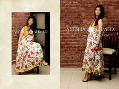 Ayesha-Ahmed, Boutique Dresses, Eid Dresses, Eid-Collection, Pakistan Fashion, Summer Designs, Summer Dresses