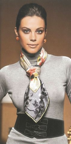 Super How To Wear Pashminas Shawl Silk Scarves Ideas Ways To Wear A Scarf, How To Wear Scarves, Ways To Tie Scarves, Wearing Scarves, Scarf Knots, Tie A Scarf, Popular Outfits, Turbans, Headscarves