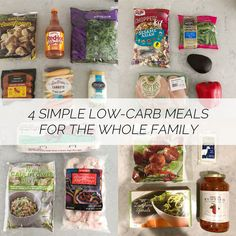 jillgg's good life (for less) | a west michigan style blog: healthy living: 4 simple low-carb meals for the whole family!