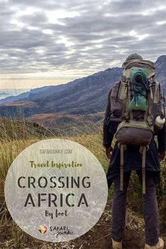 Meet the guy who is walking African continent. Mario is currently on expedition of his life, walking from South Africa to Egypt. Read the interview. Travel Advice, Travel Guides, Travel Tips, Travel Destinations, Travel Articles, Safari Adventure, Adventure Travel, African Safari, Africa Travel