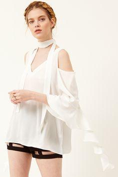 8d2518dc259cd Paula Cold Shoulder Blouse Discover the latest fashion trends online at  storets.com