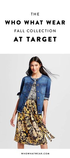 See the full Who What Wear Fall Target Collection here!