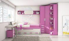 Habitacion 37. Para ver catalogos de dormitorios juveniles en Madrid entre en www muebles noel com.