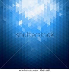 Abstract blue shiny background