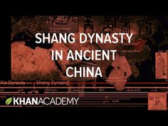 At the end of the Mythic Period of China's history, the Xia dynasty gave way to the Shang Dynasty… if the Xia really existed at all! Sal gives an overview of the Xia, Shang, and Zhou Dynasties—societies that lived between the Yellow and Yangtze Rivers—and discusses their cultural practices, their bronzeworking, and the origins of a Chinese identity.