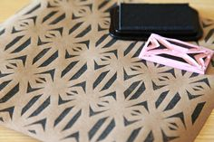 Unify Handmade: Creating Patterns using Homemade Stamps
