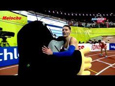 Pavel Maslak Men's European Athletics Indoor Championships Pavel Maslak win the gold medal in the men's final at the European Athletics Indoor Cham. 400m, The Man, Athlete, Basketball Court, Tv, Youtube, Sports, Free, Sport