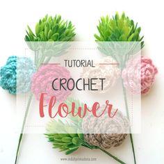 how to make crochet flower