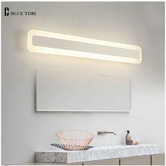 Lights & Lighting Hot Sale Modern K9 Crystal Led Mirror Wall Lamp Water Fog Resistant Lustres Lights For Dressing Room Restroom Led Included Fancy Colours