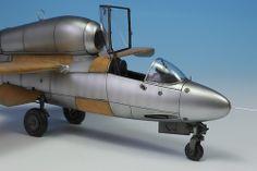 Heinkel 162 1/48 Scale Model