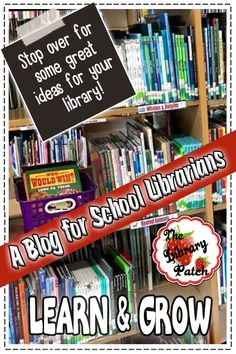 elementary librarian has many great ideas for media center specialists, teachers, administration, and their helpers. School Library Decor, School Library Lessons, Library Lesson Plans, Elementary School Library, Library Skills, Elementary Schools, Library Ideas, Library Inspiration, Library Orientation