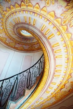 Imperial Stairs in Melk, Austria