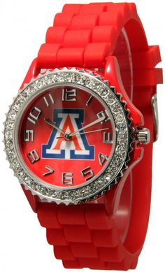 Impressive Trends - Arizona Wildcats Silicone Watch C5573, $13.50 (http://www.impressivetrends.com/arizona-wildcats-silicone-watch-c5573/)