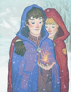 Arthur and Merlin. One of the greatest friendships of all time. :)