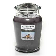 Yankee Candle simply home 19-oz. Beach Fire Jar Candle #DestinationSummer #Kohls