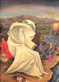 The Temptation Of St. Anthony is one of artworks by Leonora Carrington. Artwork analysis, large resolution images, user comments, interesting facts and much more. Temptation Of St Anthony, Mexican Artists, The Monks, Art For Art Sake, Visionary Art, Bosch, Fine Art, History, Artwork