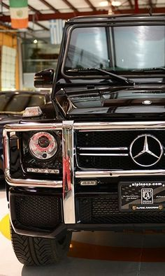 Armoured Beast! Discover this Mercedes G-Class G63 on @eBay today! Perfect for anyone who wants to 'stand out' from the crowd! #dreamcar #spon