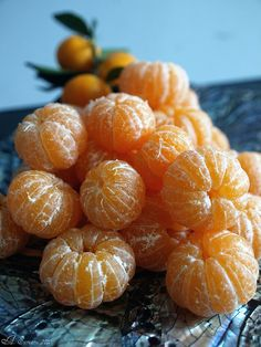 sweet juicy tangerines