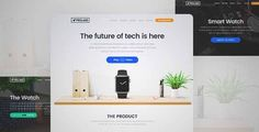 Download and review of WordPress Product Landing Page Theme - Proland, one of the best Themeforest Corporative themes