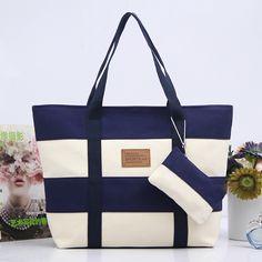 $19.99 (Buy here: https://alitems.com/g/1e8d114494ebda23ff8b16525dc3e8/?i=5&ulp=https%3A%2F%2Fwww.aliexpress.com%2Fitem%2FCanvas-Bag-Tote-Striped-Women-Handbags-Patchwork-Women-Shoulder-Bag-New-Fashion-Sac-a-Main-Femme%2F32713289811.html ) Canvas Bag Tote Striped Women Handbags Patchwork Women Shoulder Bag New Fashion Sac a Main Femme De Marque Casual Bolsos Mujer for just $19.99