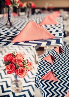 Chevron Tablecloths, Overlays , Tablerunners, Navy Blue and White, Grey and White by Jessmy on Etsy https://www.etsy.com/uk/listing/208539149/chevron-tablecloths-overlays